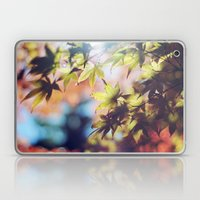 Autumn beauty Laptop & iPad Skin