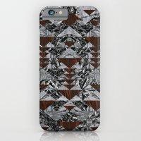 Wood Galaxy iPhone 6 Slim Case