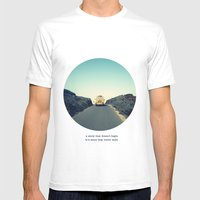 A Story That Doesn't Beg… Mens Fitted Tee White SMALL
