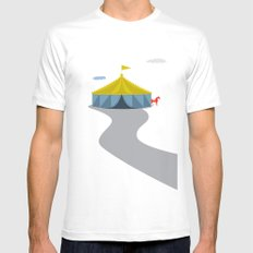Circus SMALL White Mens Fitted Tee