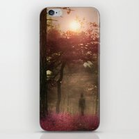 A Walk In The Forest II iPhone & iPod Skin
