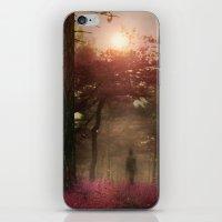 A walk in the forest II iPhone & iPod Skin