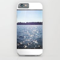 iPhone & iPod Case featuring Sparkle Water Color Photography by ginaphoto