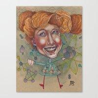 FRIZZ Canvas Print