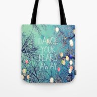 Tote Bag featuring Dance Your Fears Away by Erin Jordan