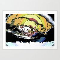 The Most Epic Explosion … Art Print