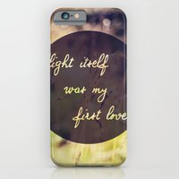 iPhone & iPod Case featuring My First Love by catdossett