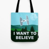 I WANT TO BELIEVE - Star… Tote Bag