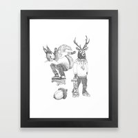 F*** your christmas Framed Art Print