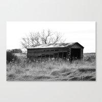 Old Barn House Canvas Print