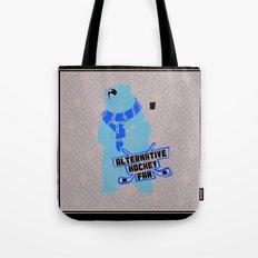 Alternative Hockey Fan - Boston Tote Bag