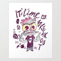 It's time to breakout Art Print