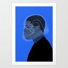 2/4 Art Print