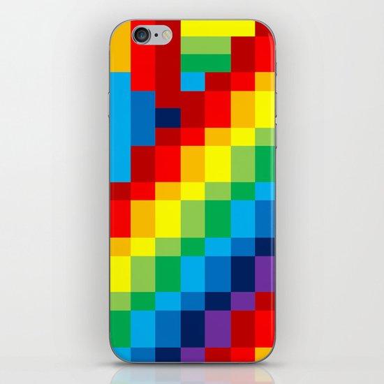 Fuzz Line #3 iPhone & iPod Skin
