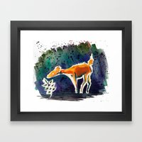 Doe Love Framed Art Print