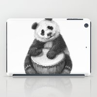 Panda playing percussion G140 iPad Case