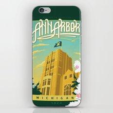 Ann Arbor Union iPhone & iPod Skin