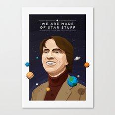 We are Made of Star Stuff - Carl Sagan Canvas Print