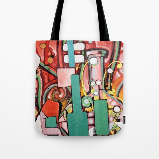 Block Science Tote Bag