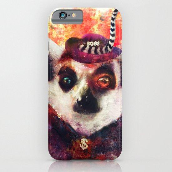 Lemur ( The Pimp Le-Mur ) iPhone & iPod Case