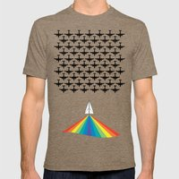 Attack Sameness Mens Fitted Tee Tri-Coffee SMALL