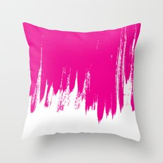 HIGH CONTRAST MAGENTA Throw Pillow