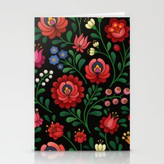 Hungarian flowers Stationery Cards
