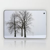 Three Trees in Winter Laptop & iPad Skin