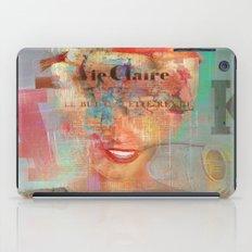 Destructuration 3 iPad Case