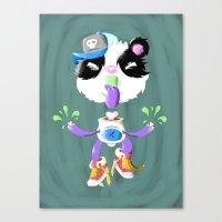 Creepy Cutie Canvas Print
