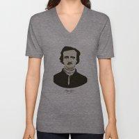 Edgar A. Poe Unisex V-Neck