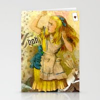 alice annoyed Stationery Cards