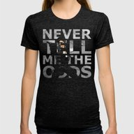 Star Wars Han Solo Quote Womens Fitted Tee Tri-Black LARGE