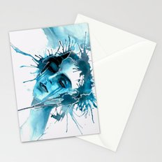 When I feel you Stationery Cards