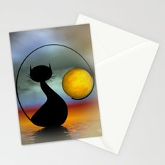 just meet me at moonrise Stationery Cards