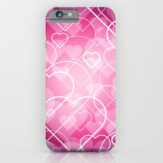 Hard line Heart Bokeh iPhone & iPod Case