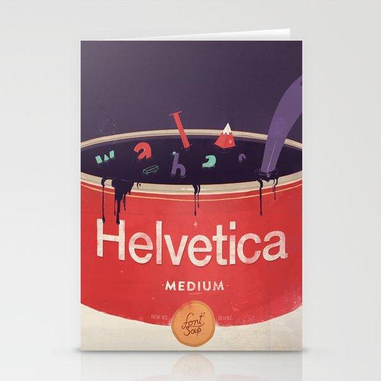 Helveti-soup Stationery Card