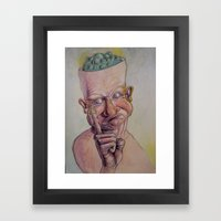 Boogers? Framed Art Print