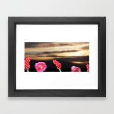 Surreal Sunrise Framed Art Print
