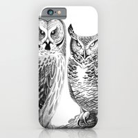 Bubo And Strix iPhone 6 Slim Case