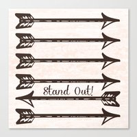 Stand Out! Canvas Print