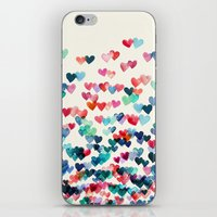 Heart Connections - Wate… iPhone & iPod Skin