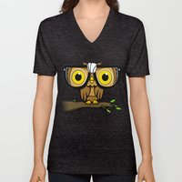 The Little Wise One Unisex V-Neck