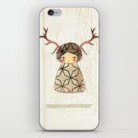 Deer Paperdolls iPhone & iPod Skin