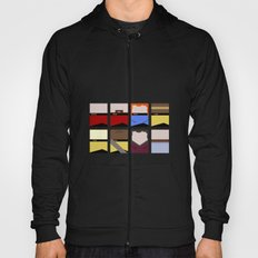 Enterprise 1701 D - Minimalist Star Trek TNG The Next Generation - startrek - Trektangles  Hoody
