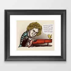 Play it by ear Framed Art Print