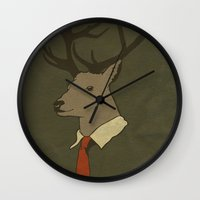 Young Professional  Wall Clock
