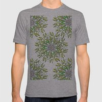DIAMOND SUTRA Mens Fitted Tee Athletic Grey SMALL