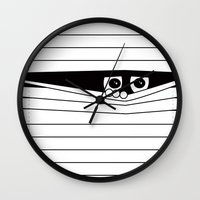 Watching. Wall Clock