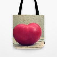 Tomato Red Tote Bag